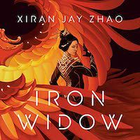 An image of the cover of Iron Widow by Xiran Jay Zhao