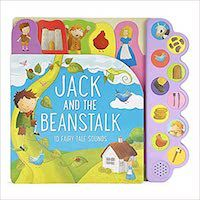 Jack and the Beanstalk board book cover (music books for kids)