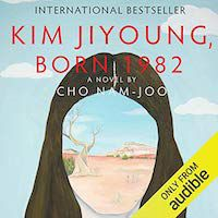 A graphic of Kim Jiyoung, Born 1982 by Cho Nam-Joo, translated by Jamie Chang