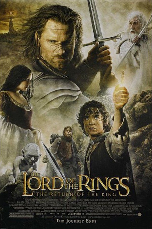 The Lord of The Rings, The Return of the King Movie Poster