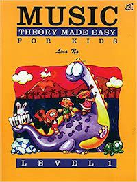 Music Theory Made Easy for Kids book cover (music books for kids)