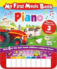 My First Music Book: Piano book cover