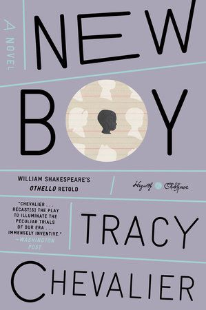 cover of new boy novel by tracy chevalier