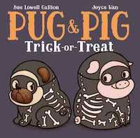 Pug Pig Trick or Treat book cover