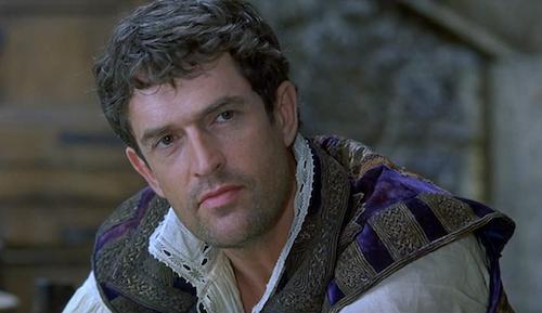 Rupert Everett as Christopher Marlowe in Shakespeare in Love