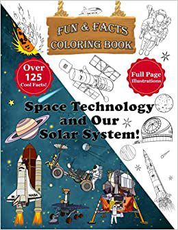 Space Technology and Our Solar System Daniel Gershkovitz with illustrations of space-related items on the cover