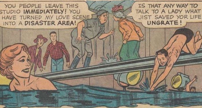 Panel from the Beverly Hillbillies Comic