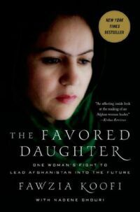 Cover of The Favored Daughter by Fawzia Koofi