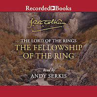 The cover image of The Fellowship of the Ring by JRR Tolkien