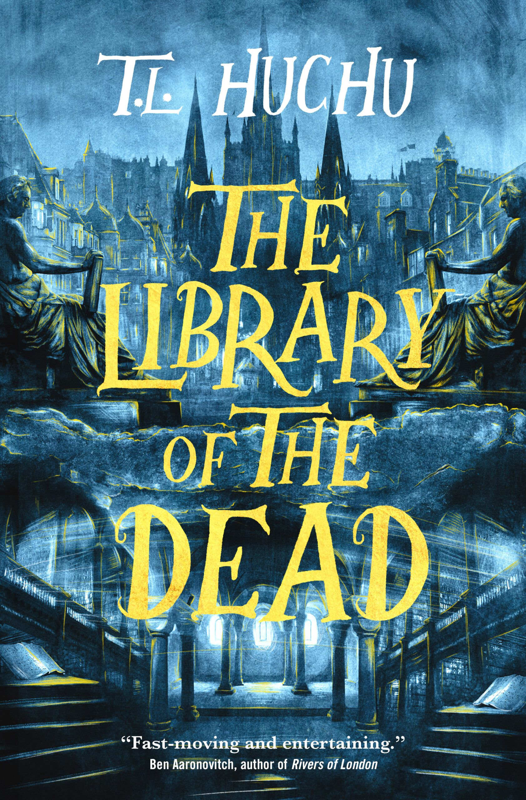 The Library of the Dead book cover