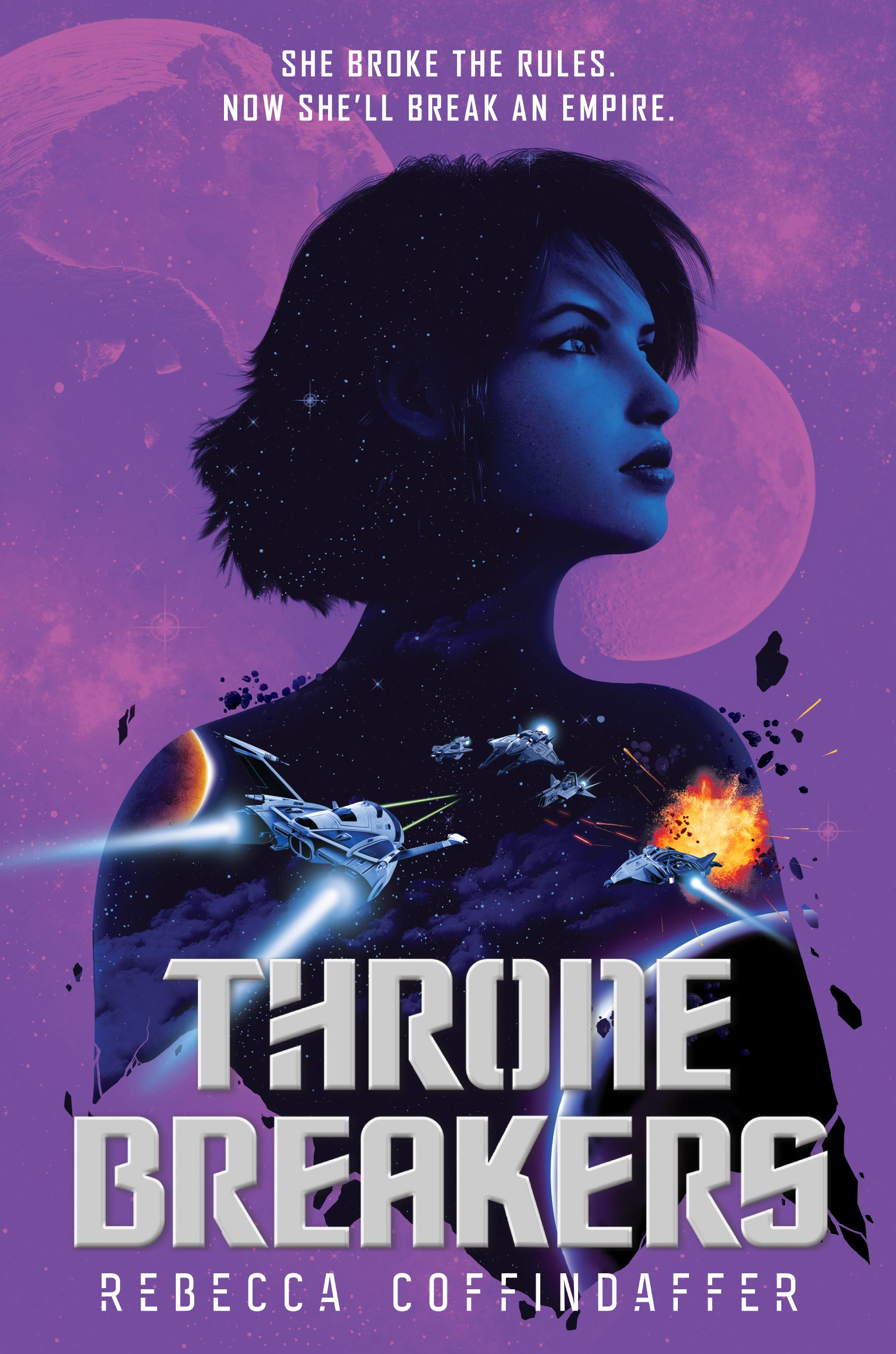 Cover of Thronebreakers by Rebecca Coffindaffer