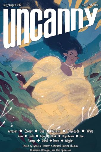 Image of Uncanny Magazine's issue 41 cover