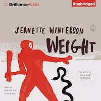 A graphic of Weight by Jeanette Winterson