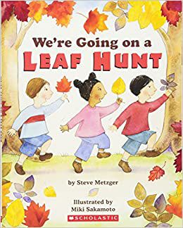 We're Going on a Leaf Hunt Book Cover