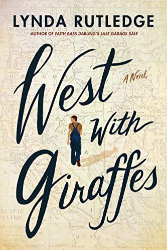 West with Giraffes by Lynda Rutledge