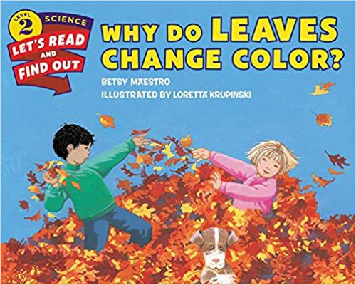 Why Do Leaves Change Color Cover
