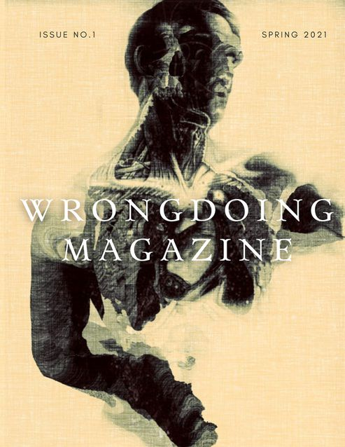 Image of Wrongdoing Magazine's issue 1 cover