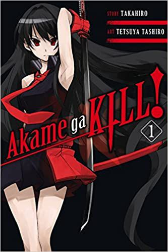 akame ga kill book cover