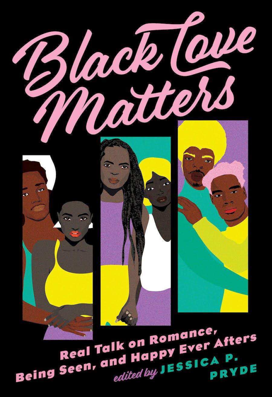 book cover of Black Love Matters edited by Jessica P. Pryde