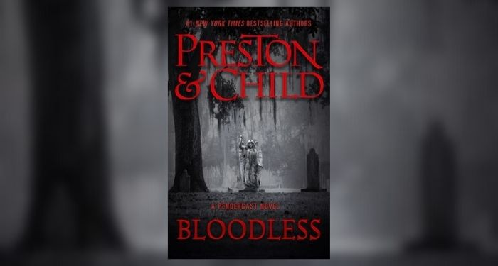 Bloodless book cover