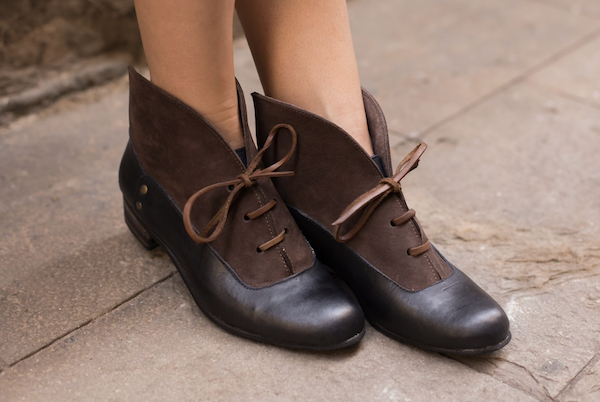 picture of brown ankle boots
