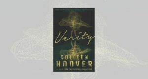 Verity by Colleen Hoover Book Cover