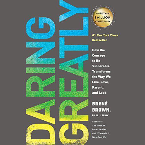 audiobook cover image of Daring Greatly By Brené Brown