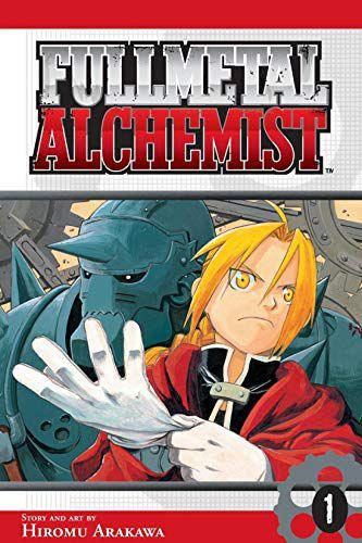fullmetal alchemist manga book cover