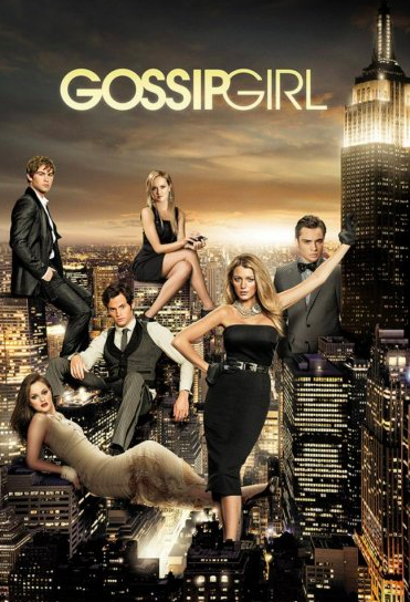 Original Gossip Girl TV poster