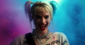 image of Margot Robbie as Harley Quinn in Birds of Prey film