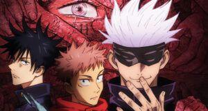 Cropped version of JuJutsu Kaisen anime movie poster