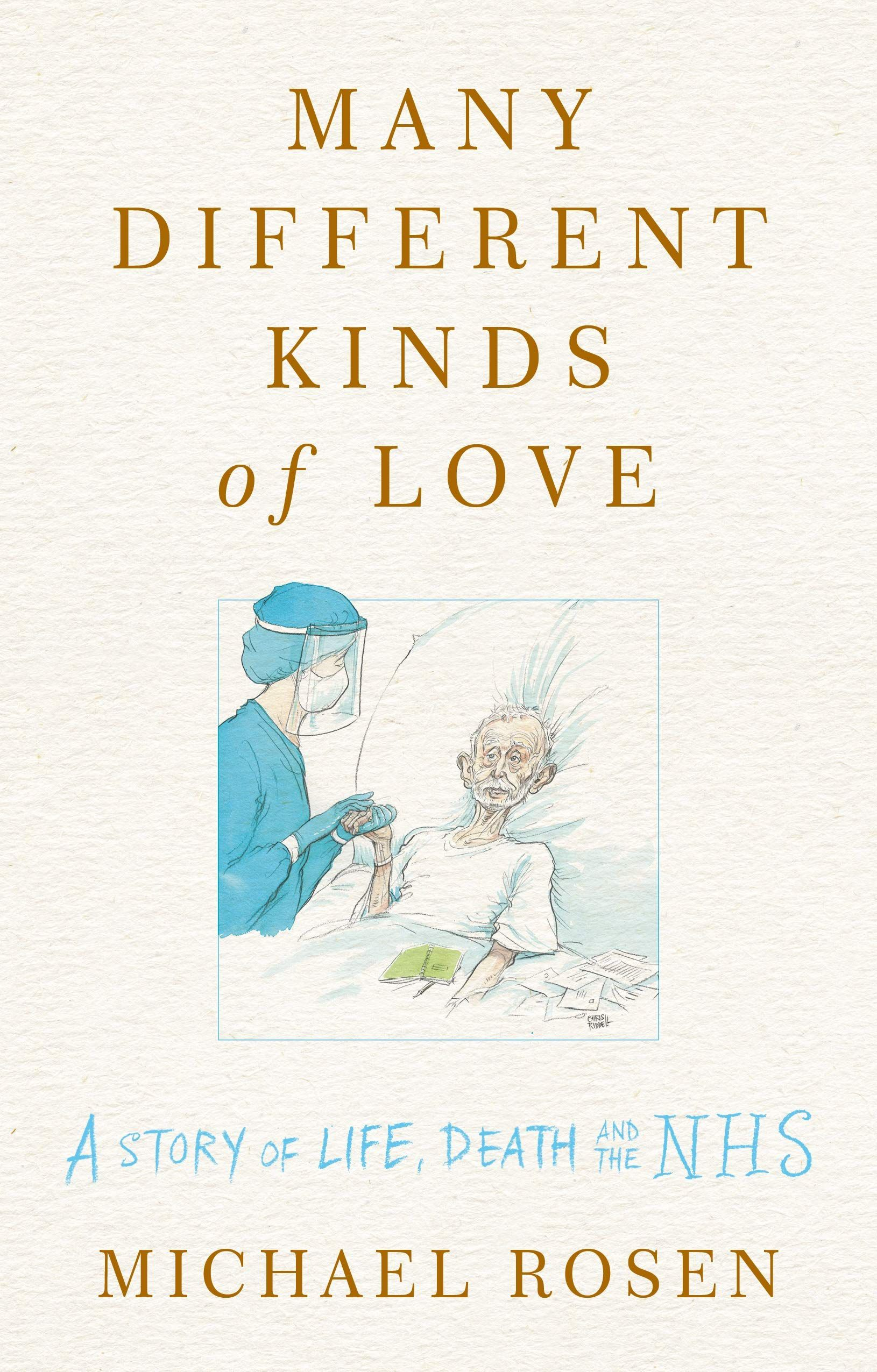 many different kinds of love by michael rosen book cover