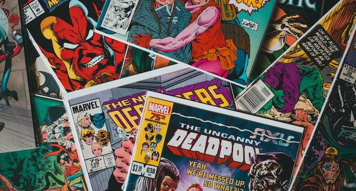 pile of marvel comics