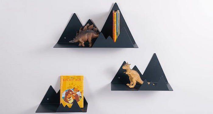 mountain bookshelves