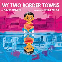 Cover of my two border towns by bowles