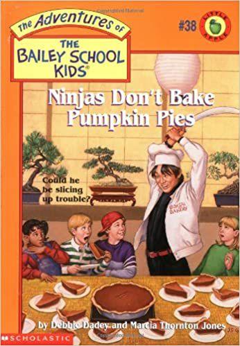 ninjas don't bake pumpkin pies book cover