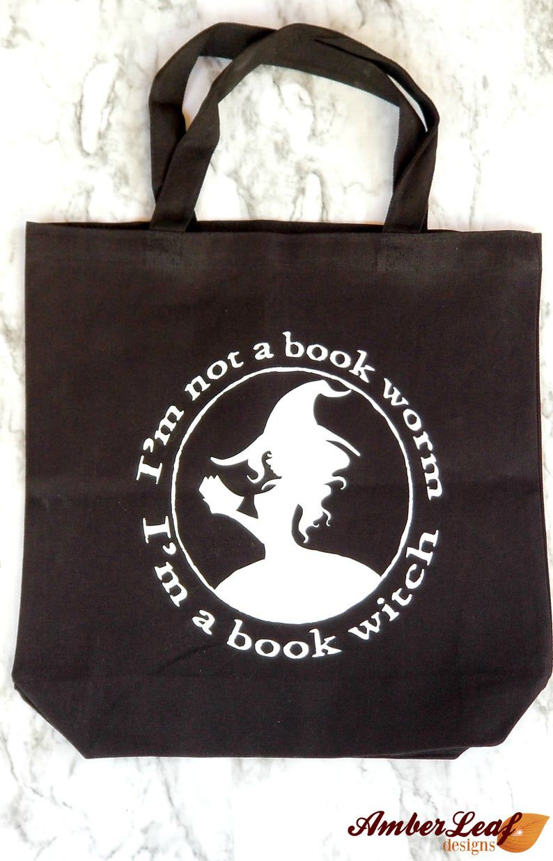 Image of book witch tote.