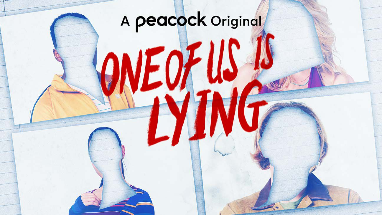 One of Us is Lying Peacock banner