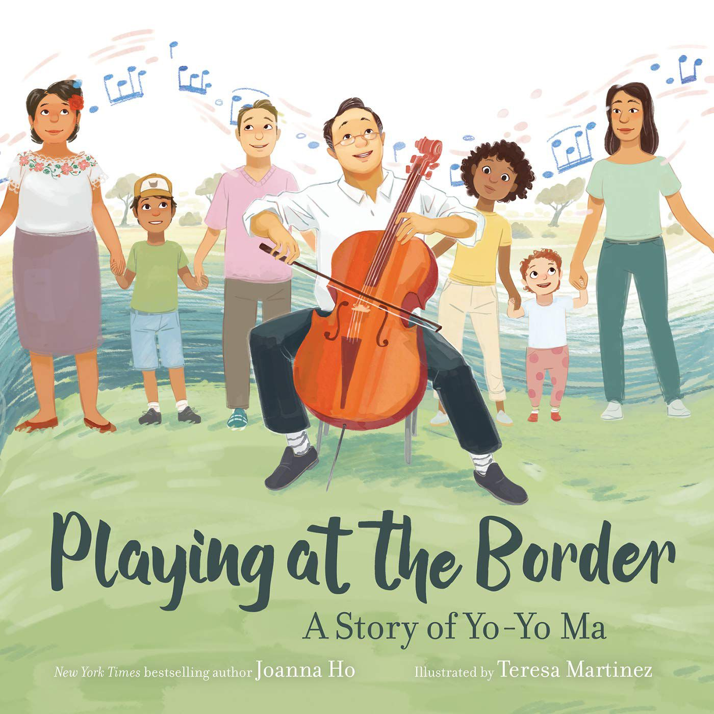 Cover of Playing at the Border by Ho