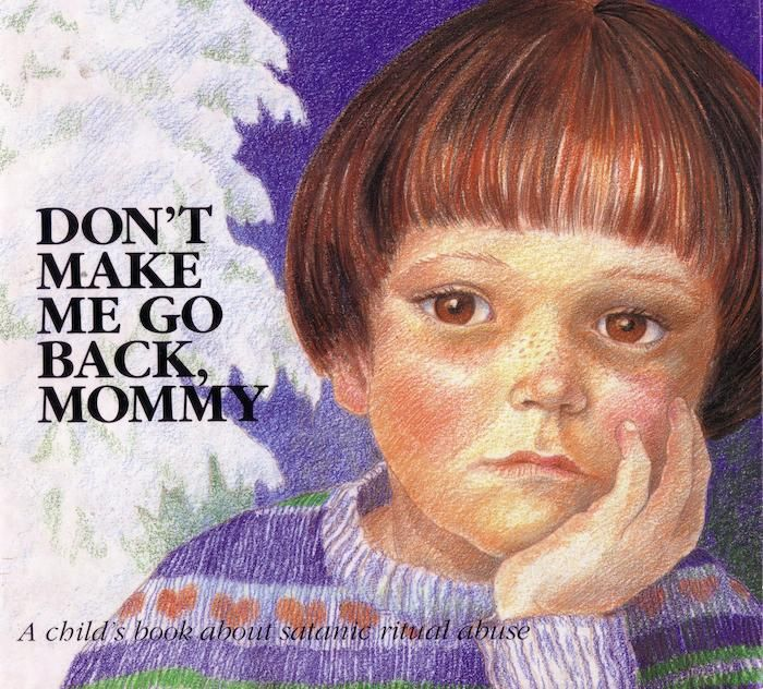 book cover for don't make me go back mommy
