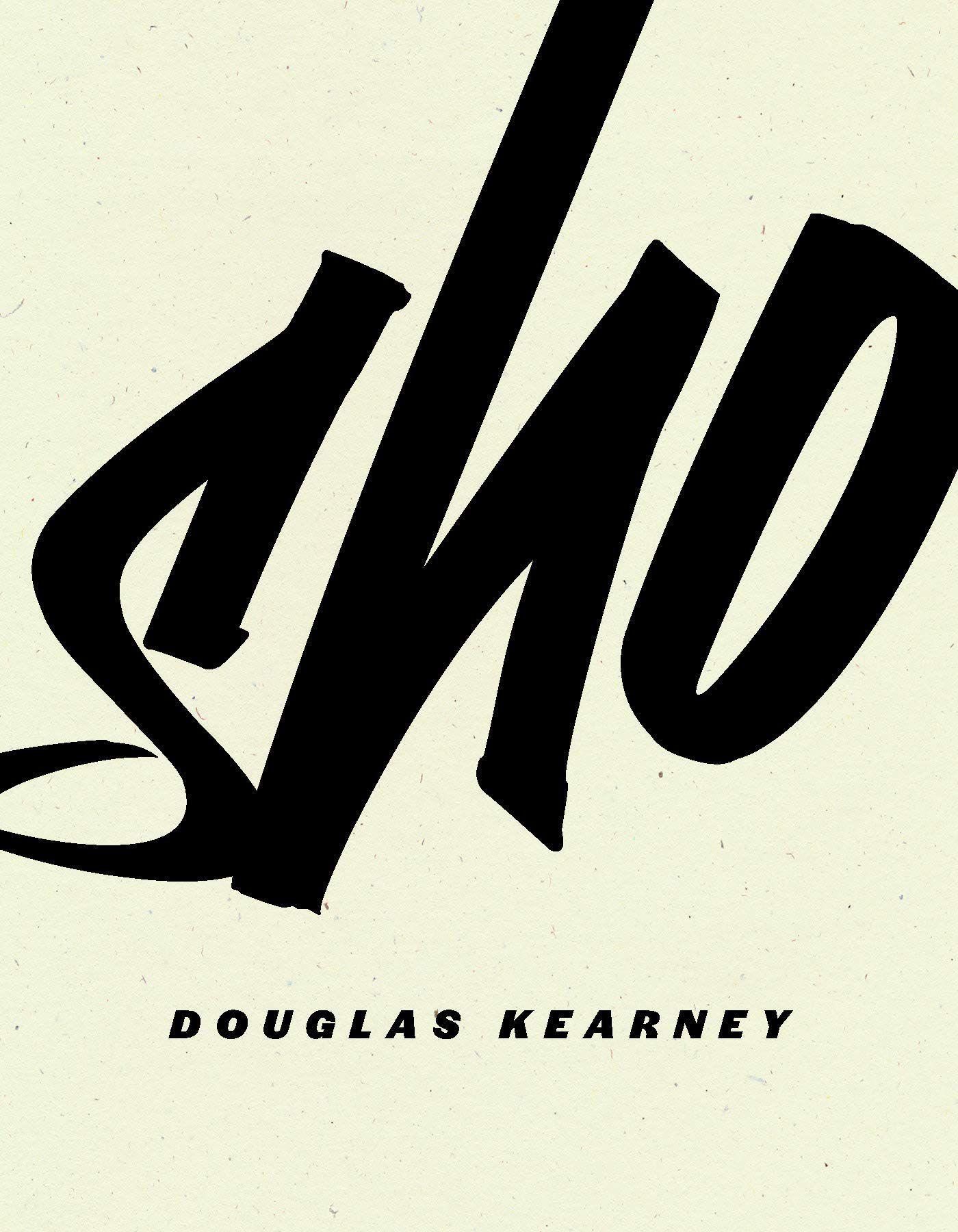 sho by douglas kearney book cover
