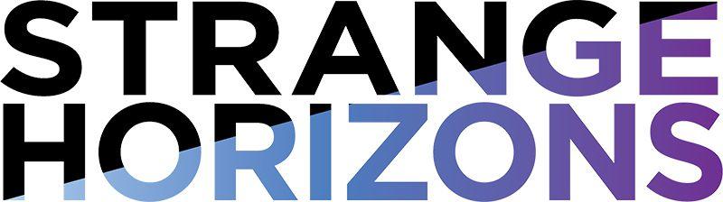 "Image of ""Strange Horizons"" online literary journal text logo"
