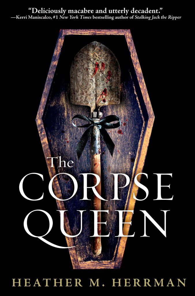 the corpse queen book cover