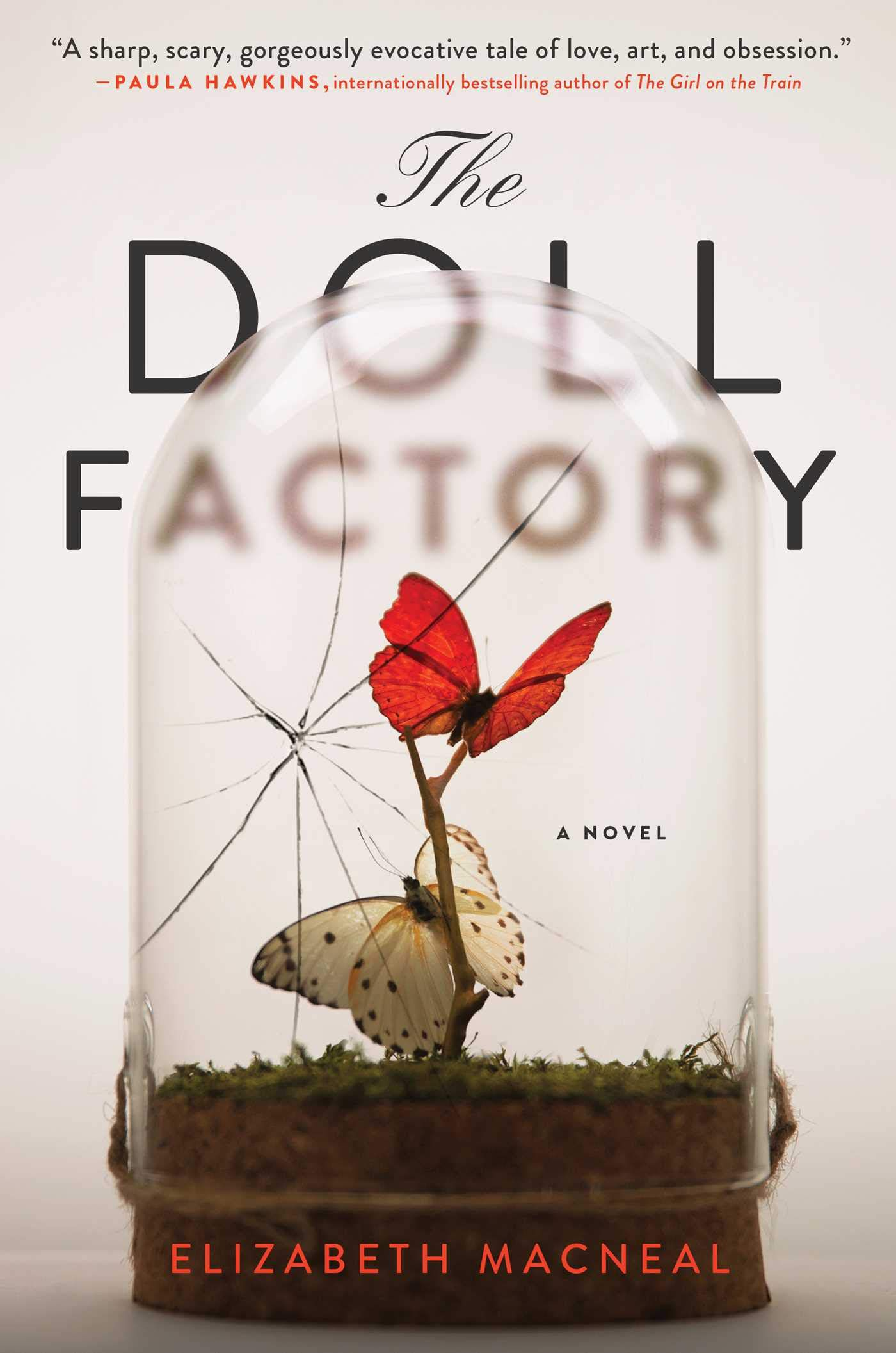 cover image of the doll factory by elizabeth macneal