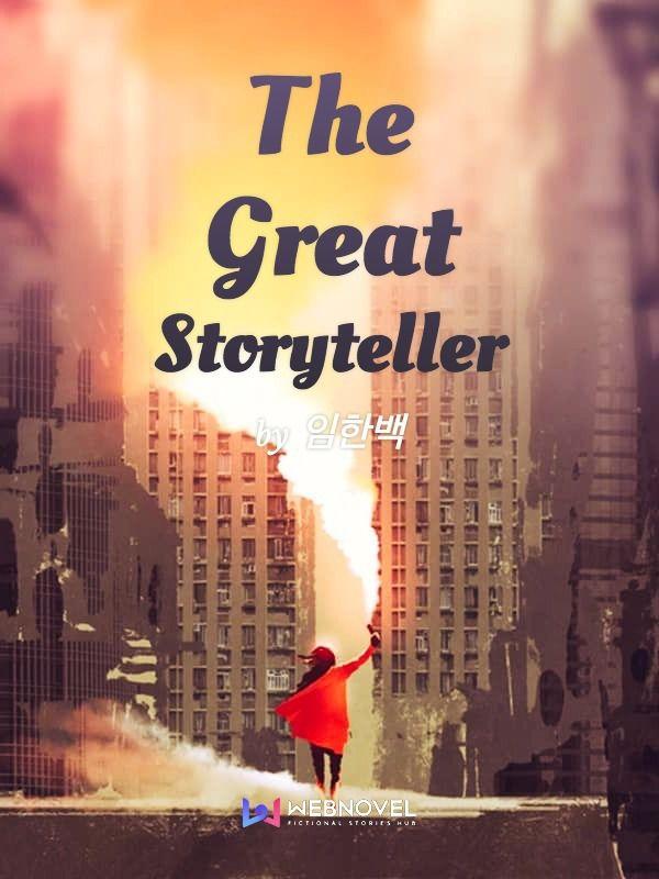 The Great Storyteller light novel cover