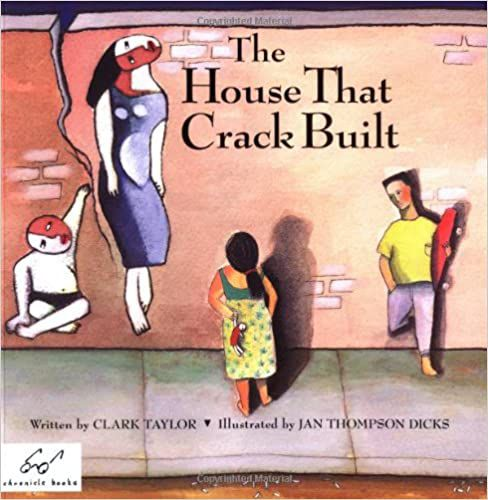 book cover for the house that crack built