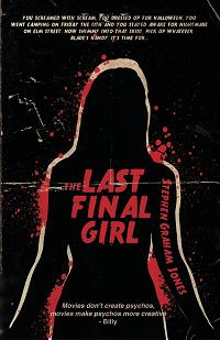 The Last Final Girl by Stephen Graham Jones book cover
