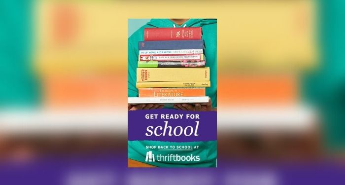 ThriftBooks giveaway cover image