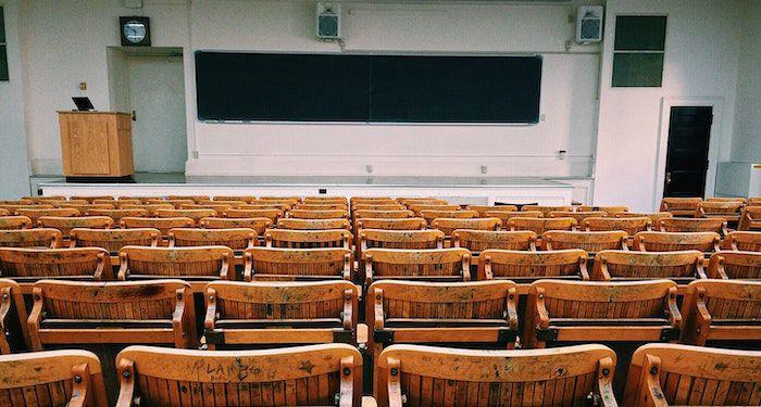 photo of a university classroom