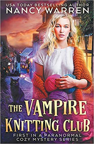 Vampire Knitting Club book cover